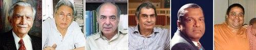 Karanjia, Contractor, Singh, Mehta, Nair, Lakshman